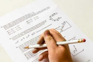 eksamen vraestel