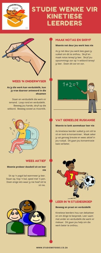 kinetiese leerder